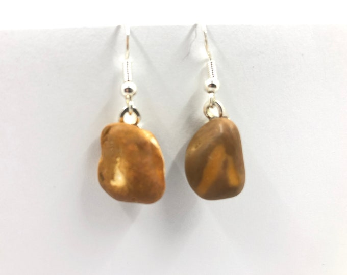 Sea Pebble drop Earrings. Handmade & totally unique. The perfect gift for no one else has!