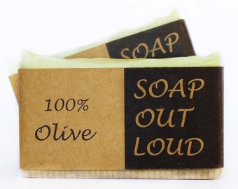 100% Olive Organic Soap, Unscented