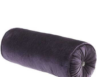 Luxury velvet bolster pillow cover  9e4c71147