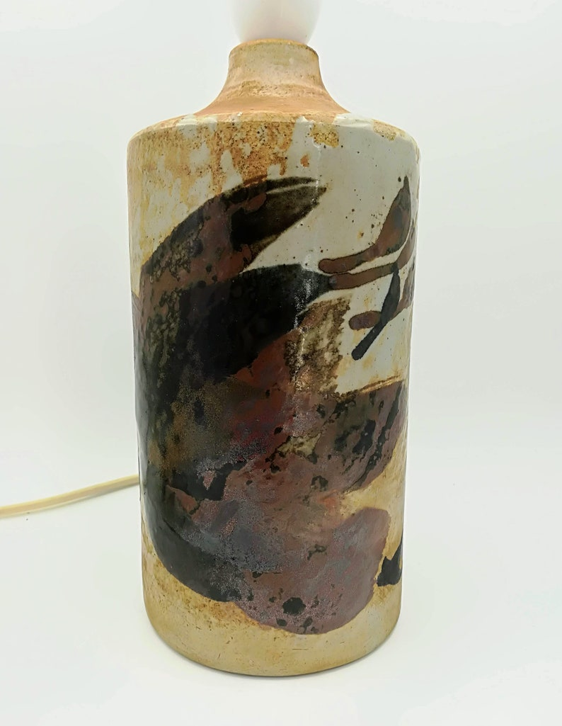 Danmark: table  lampe,1960s stoneware Conny Walther 1931 -