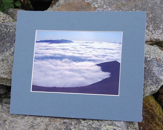 Blencathra Temperature Inversion - Lake District Print, Cumbria, Wainwright,