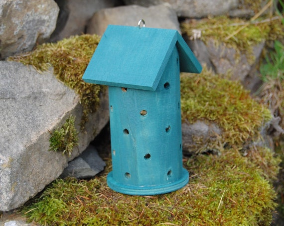 Winter Green Wooden Ladybird House Hotel - Ladybug - Insect House - Bug Hotel - Bee House - Gardening Gifts - Scottish Gifts - Scotland