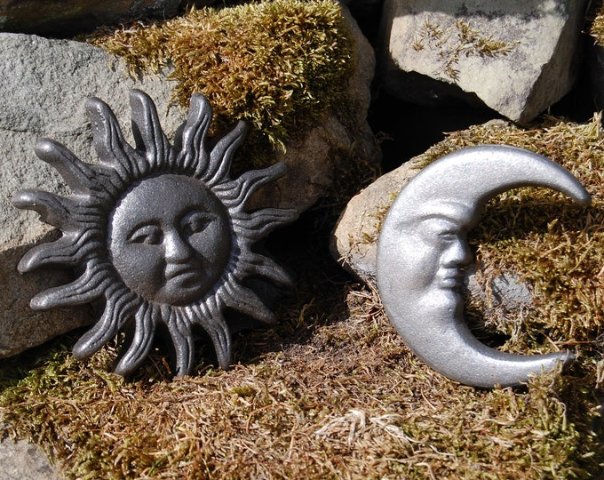 Sun & Moon Garden Wall Hanging Set
