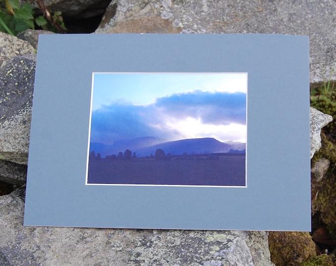 Castlerigg Sky - Lake District Print, Cumbria, Wainwright,