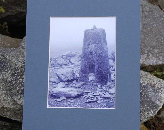 Black Combe Trig Point - Lake District Print, Cumbria, Wainwright,