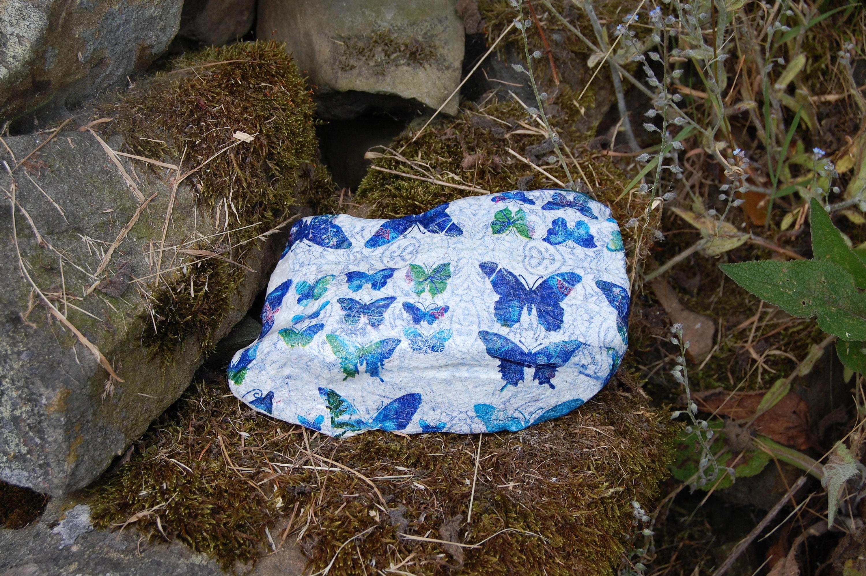 Blue Butterflies Butterfly Garden Art Garden Stone