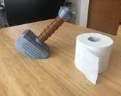 Thor Hammer Toilet Paper Holder | Mjolnir Bathroom Decoration | Avengers