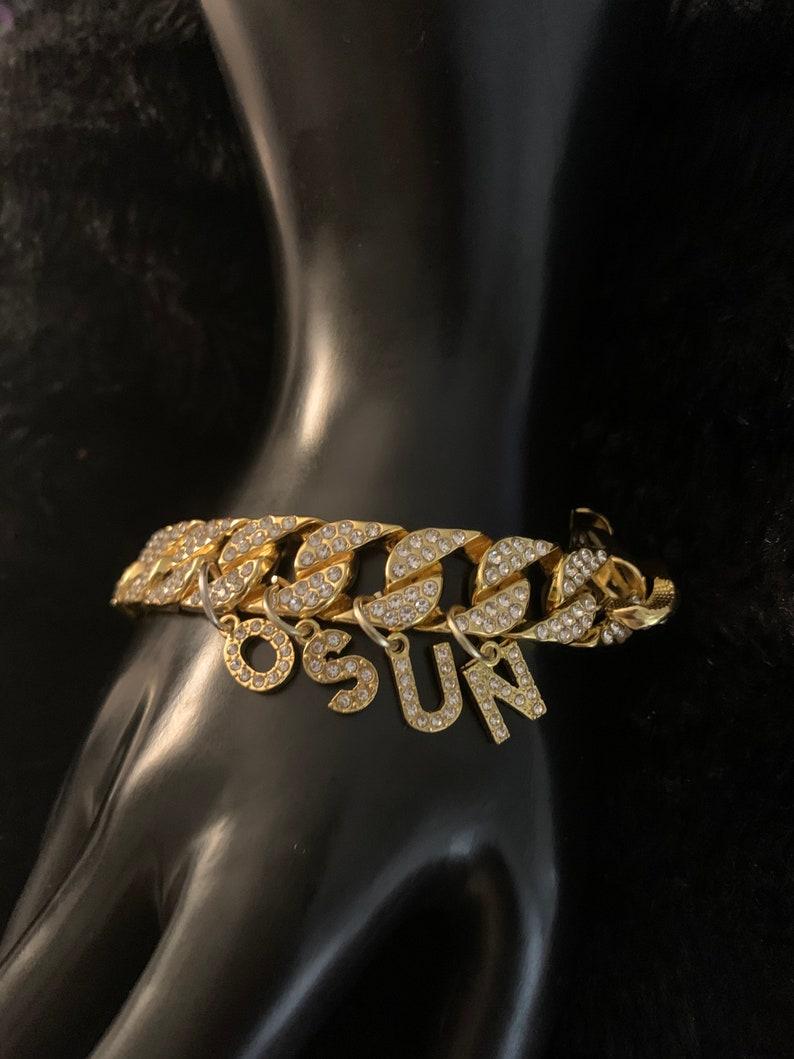 Osun big link bracelet