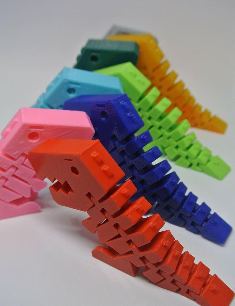 Flexi Rex Dinosaur Toy Birthday Gift Kid For Boy