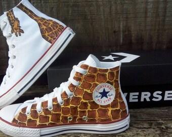 0a34c0c43d204 Custom giraffe shoes | Etsy