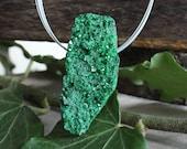 Garnet pendant green Uvarouvite