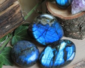 Pebbles of Labradorite blue extra lot 4