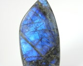 Blue Labradorite shape in tip