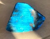 Original free-form blue Labradorite