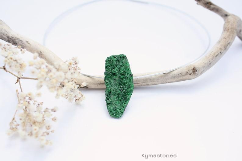 Uvarouvite Green Grenat pendant image 0