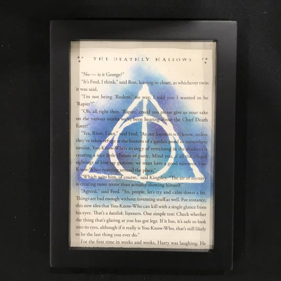 Hallows Potter Wizard Magic The Three Brothers Symbol