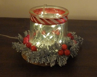 silver red christmas votive candle holder christmas decorations holiday decorations glass candle holder rustic christmas decorations - How To Decorate Votive Candle Holders For Christmas