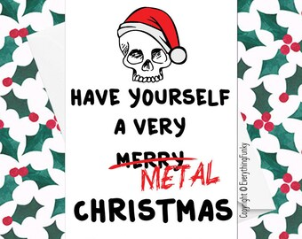 Heavy Metal Christmas.Have Yourself A Very Metal Christmas Heavy Metal Christmas
