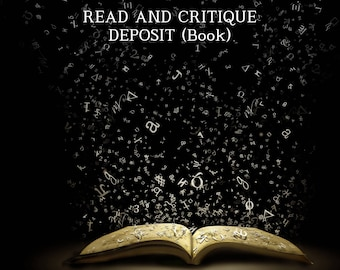 Read & Critique Deposit (Book)