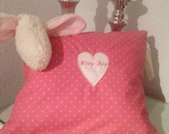 Cuddly Pillow pink The Sheep