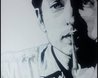 Bob Dylan ...Art Print