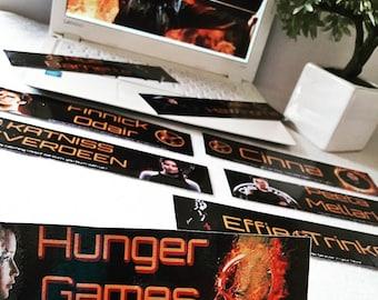 Bookmarks HUNGER GAMES (individually)