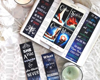 Bookmark: Lunar Chronicles