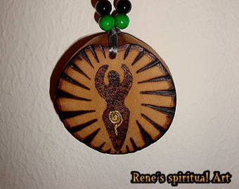 Amulet Great Goddess ~ Great Mother ~ Mother Earth ~ Wicca