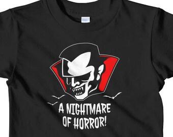 Goth Kids Clothes | Punk Kids | Gothic Kids | Horror Kids | Vampire Kids | Vampire Bat | Monster Kids | Halloween Kids | Toddler Shirt