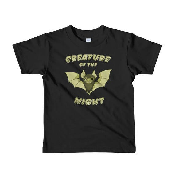 d002fd03aa658 Creature of the Night T-Shirt Goth Kids Clothes Punk Kids | Etsy
