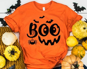 Boo svg, Halloween svg, Smile svg, Ghost Smile svg, Fall svg, dxf, eps, png, Boo Shirt, Halloween Shirt, Print, Cut File, Cricut, Silhouette