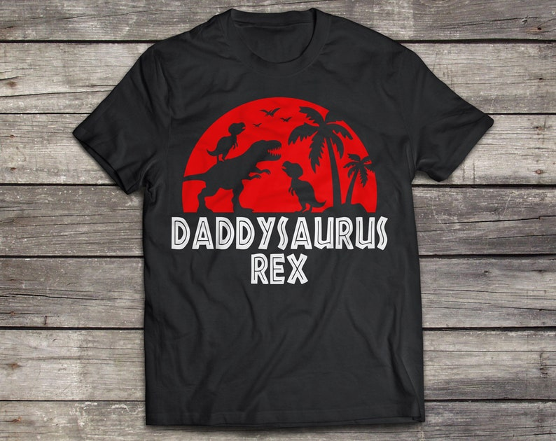 eps Daddysaurus Rex svg Dad T-rex svg Fathers Day svg Print File Cut FIle Daddy Dinosaur svg Silhouette png dxf Cricut Download