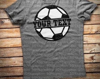Soccer SVG, Soccer monogram svg, dxf, png, eps, Soccer Ball svg, Ball svg, Your team, Soccer logo svg, Cut files, Cricut, Silhouette, Decal