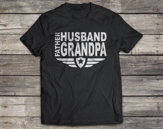 Husband Father Grandpa Svg Father S Day Svg Dxf Dad Etsy