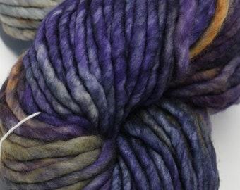 "Two Skeins - Malabrigo Rasta Yarn ""Lluvias"" colourway Super Bluky 100% Merino Wool"