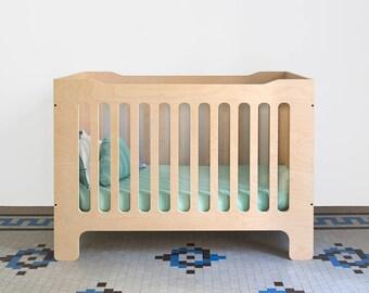 Crib Birch Wood
