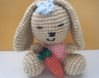 Amigurumi Bunny with carrot