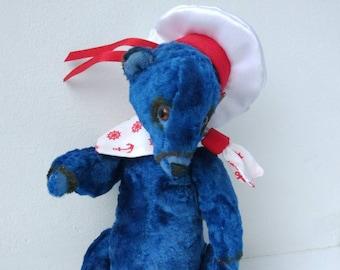 Handmade Vintage Sailor Teddy Bear