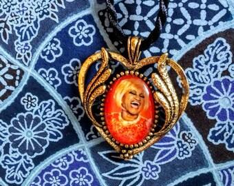 Celia Cruz Pendant Necklace