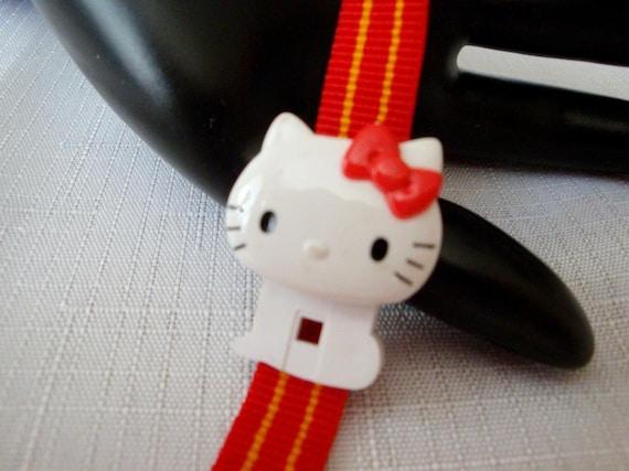 Hello Kitty Red Watch, RARE 80's Sanrio Hello Kit… - image 6