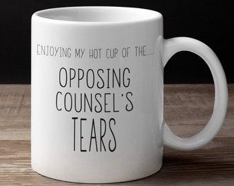 Lawyer Mug Etsy