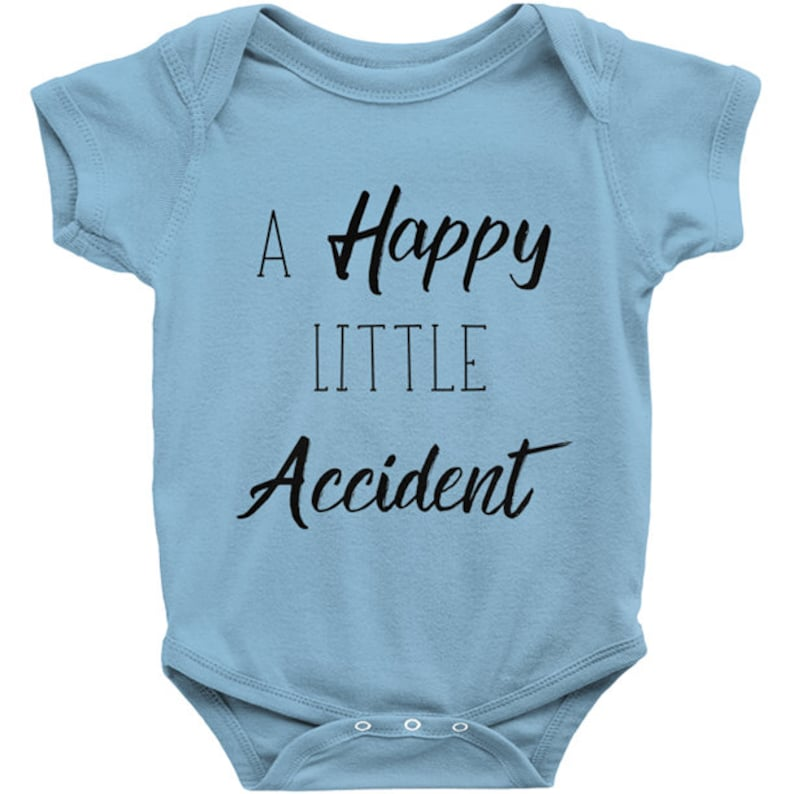 6fd4d19ce Gag Gift Happy Little Accident Onesie Best Oops Ever | Etsy
