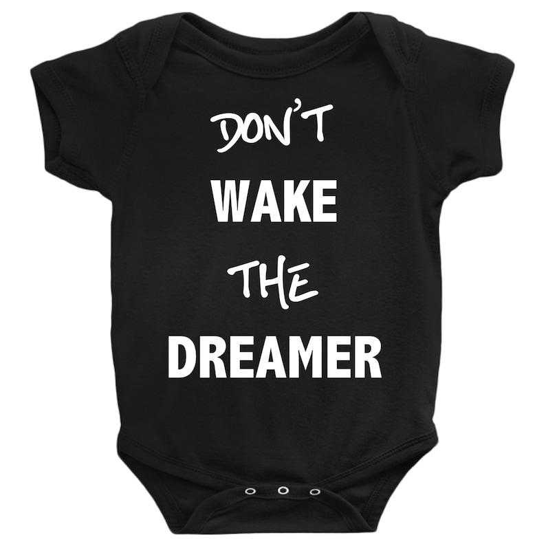 0281e725b Don't Wake the Dreamer Onesie New Baby Gift Baby Shower | Etsy