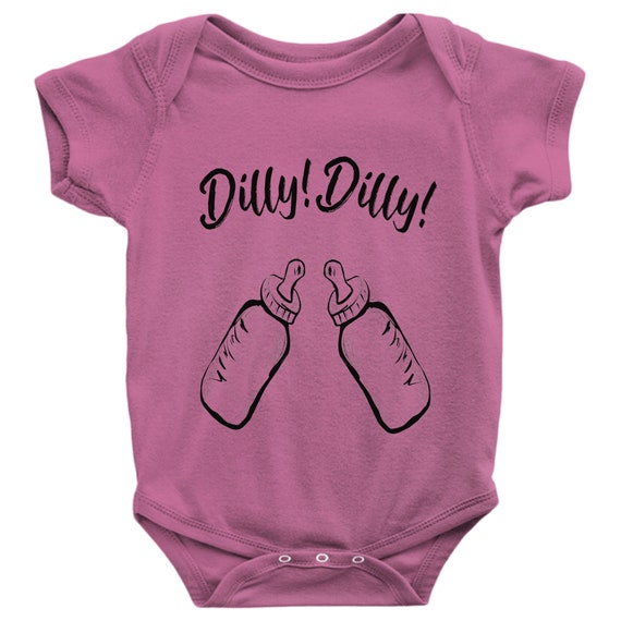 Unisex Baby Bodysuit Dilly Dilly Funny Daddys Drinking Buddy Gift for Baby Shower