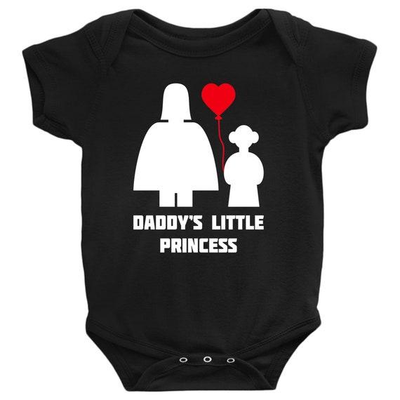 Princess Leia Cool Gift Star Wars Cute Han Solo Darth Vader Romper Bodysuit