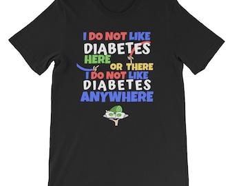 Dia-Be-Tees Suess Diabetes T1D Short-Sleeve Unisex T-Shirt