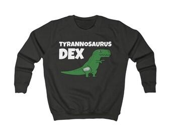 Dia-Be-Tees Tyrannosaurus Dex Kids Sweatshirt