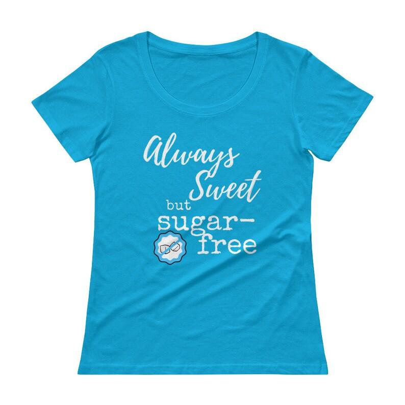 Dia-Be-Tees Always Sweet but Sugar Free Diabetes Ladies' image 0