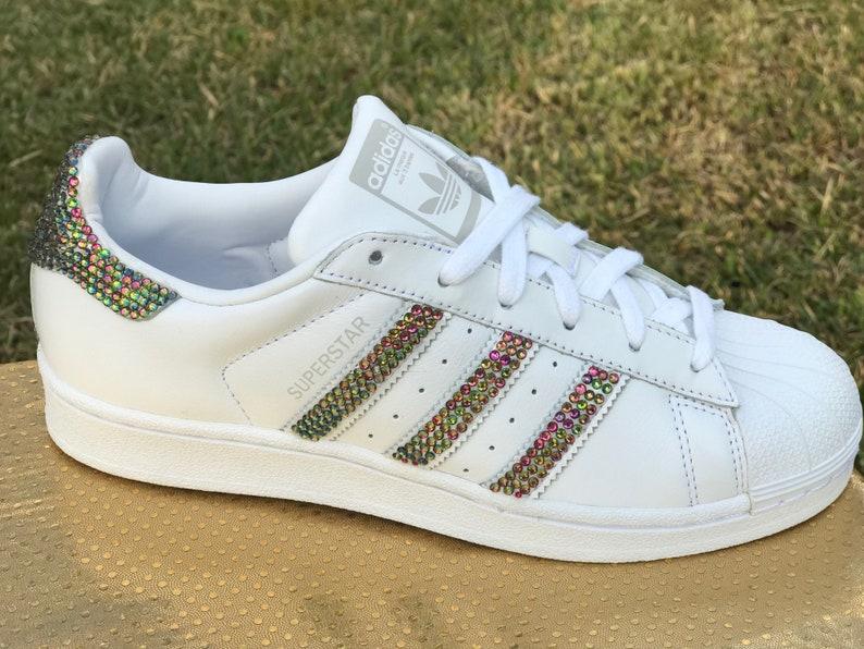 bb7d9b4c92cba Adidas Bling Shoes, Women's Superstar Sneaker
