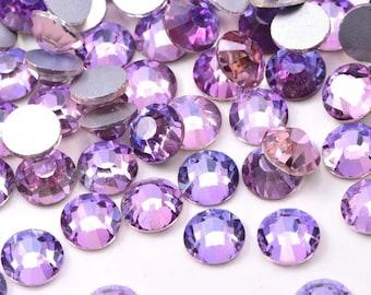 Air Violet Velvet Flatback Rhinestones